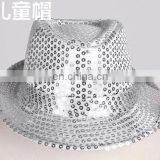 TZ-M021-S children silver sequins hat