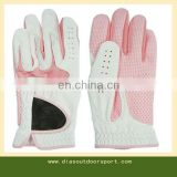female cabretta golf glove