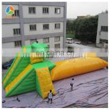 Outdoor Giant Inflatable diving platform sport games for hot sale
