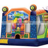 bouncy castle,cheap inflatable,art panel inflatable bouncers d097