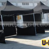 Black Color Ventilated Folding Tent For Event