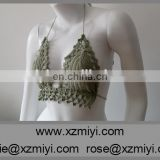 Green Colour Crochet bikini Mahina Crochet swimsuit Crochet Lace Swimwear