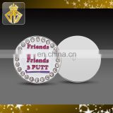 Iron Die Struck Golf Ball Marker