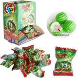 Hot Sale Watermelon Bubble Gum filled Powder Candy