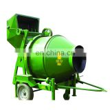 Factory Direct Sale Hydraulic Lifting Mobile 350L Concrete Mixer for Sale Motor Tilting Diesel Engine Cement Mixer