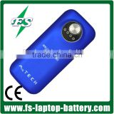 5600mAh power bank for HTC,smartphone,iphone 5S/5C/5/4S/4,mp3,Mp4,ipad,ipod,Nokia,Samsung,waterproof power bank