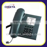single line push button corded phone