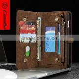 Multifunction wallet leather phone case for iphone 6/6 plus With Magnetic Closure Card Holder