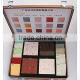 carry-on aluminum stone sample display case box for hard aluminum case with tile tool set
