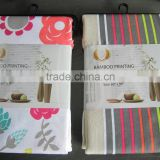 1PC Polyester Bamboo Printing Table Cloth
