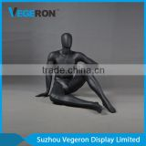 abstract sitting male mannequin