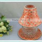 China manufacturing new mosaic lamp candle shade for home decoration&wedding