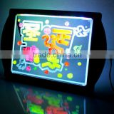 Magnetic led writing drawing board toy