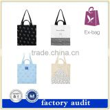 Top quality handmade shoulder cotton canvas tote bag beach bag