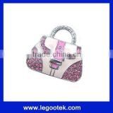 bag shape jewelry usb drive with gift packing/CE,FCC,ROHS