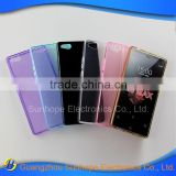 wholesale glossy design transparent tpu mobile phone cover for ZTE Nubia Z9 Max case
