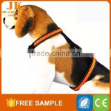 glittery christmas led dog walking nylon led clothes pet harness