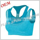 Woman sexy fitness sportswear active yoga bra top great breast hot workout gym wear sports bra