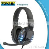 stereo Lightweight Folding Portable Headphone Noise Cancelling Bass Metal Stretchable Headband...
