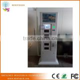 Mobile Smart Transaction Cell Phone Charging Kiosk with Digital Lockers