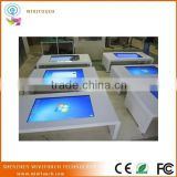 All In One Touch Table Kiosk, Multimedia Touchscreen Information Kiosk, Fashion Multi Touch Kiosk
