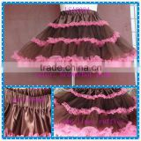 multicolor wedding dress for adult crinolining underskirt 60cm petticoat underskirt