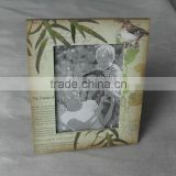 bamboo MDF wooden photo frame