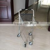 Japan Style Shiny aluminium shopping trolley / shopping cart