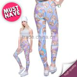 Holo Monkeys Print Legging Fitness Clothing For Women Leggings Disco Ladies Leggings Plus Size Women Clothing Elastic