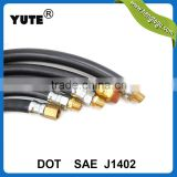 dot approved yute brand air pressure using brake hoses for truck with sae j1402