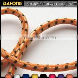 multi-color dots decorative high strength durable elastic bungee cord