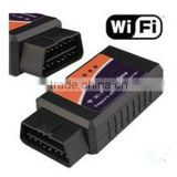 Super Wifi ELM327 ElM 327 OBD 2 II Car Diagnostic Tool OBD Scanner Interface Support Android and IOS
