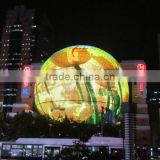 programmable 3d led sphere ball display screen