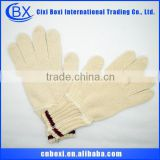 2014 China wholesale cheap high quality multi-color working glove,garden glove cotton glove