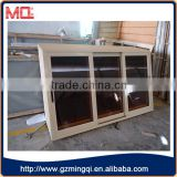 Aluminum brown coated glass sliding window colored glass                                                                                                         Supplier's Choice