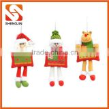 SJ-L6116 Factory sale cute plushd dolls father Christmas decorating toys Santa Claus toys