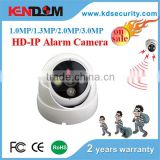 Kendom Useful for Smart Home HD Alarm siren Camera IP 2MP/3MP/4MP Indoor Vandalproof IR dome IP camera tester POE optional