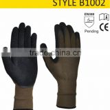 Flexible Seamless Ce Standard Garden Gloves Bamboo