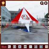 Outdoor advertising aluminum poles star shade tents for sale