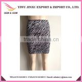 2016 New Design Fashion Sexy Printed Tight Elegant Mature Girls Mini Skirts High Waist Cheap Dresses