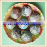 high quality two piece colorful oem golf ball golf practice ball