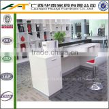 Modern Front Desk Fashion White Bar Reception Counter Furniture