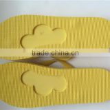 Summer beach slipper Cheap EVA material die cut flip flops Bottom customized logo design