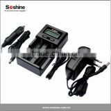 Soshine H2 LCD intelligent charge for Li-ion/Lifepo4/NiMH battteries universal battery charger 18650 battery charger