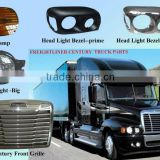 freightliner century front grill, freightliner columbia front grill