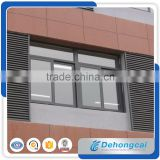 China manufacturer high and top quality custom flexible designed casement used aluminum windows