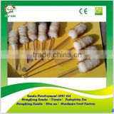 bamboo handle long lambswool duster for car dust removing