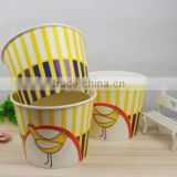 64oz Disposable paper chicken bucket food container