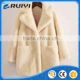 kids trendy clothing wholesale boutique fancy children clothes fake fur winter coat
