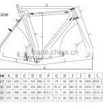 Excellent Products! 3K/12K/UD and glossy or matte finished and 2 years warranty super light carbon road bicycle frame